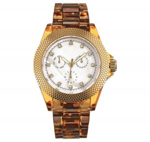Wild Safari Faux Tortoiseshell Watch - Avon