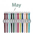 May Pavé Bezel Birthstone Watch - Avon