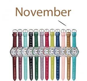 November Pavé Bezel Birthstone Watch - Avon