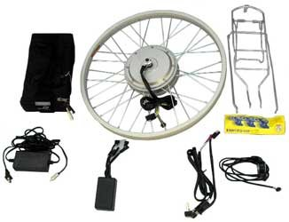 Electric bike bicycle motor hub kit 36 volt 400 watt new brushless.