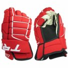 "Elite Series Tron Hockey Gloves Size 13"" (RED)"