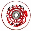 Red Star Indoor Inline Hockey Wheels HiLo Set 4-76mm 4-80mm 74A