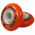 Giga Hz Outdoor Inline Hockey Wheels HiLo Set 4-72mm 4-80mm 84A