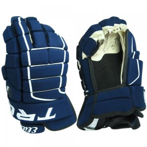 "Elite Series Tron Hockey Gloves Size 14"" (NAVY)"