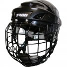 "20K Senior Hockey Helmet Small w/ Cage 21.25"" - 22.8"" (Black)"