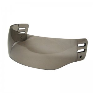 S-Series Aviator Smoke Visor Anti Fog/Anti Scratch Senior Pro Straight Cut Half Shield Visor