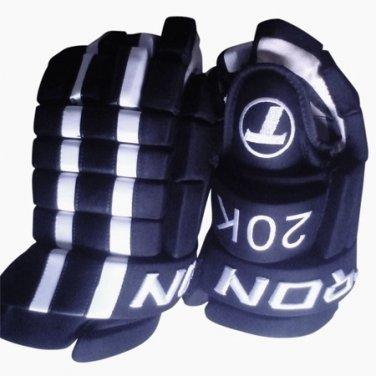 """Elite 20K Senior Hockey Gloves Size 13"""" (NAVY)"""