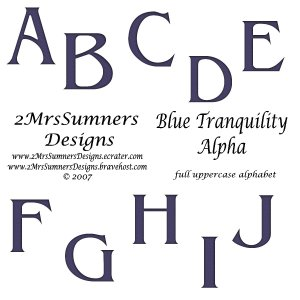Blue Tranquility Alpha