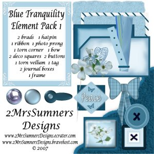 Blue Tranquility Element Pack 1