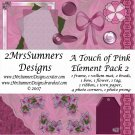 A Touch of Pink Element Pack 2