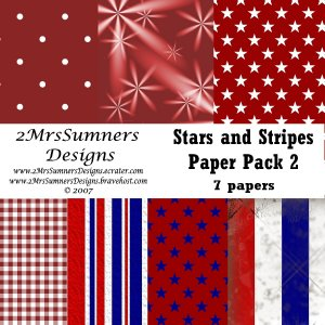 Stars and Stripes Paper Pack 2