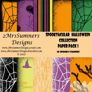 Spooktacular Halloween Collection Paper Pack 1