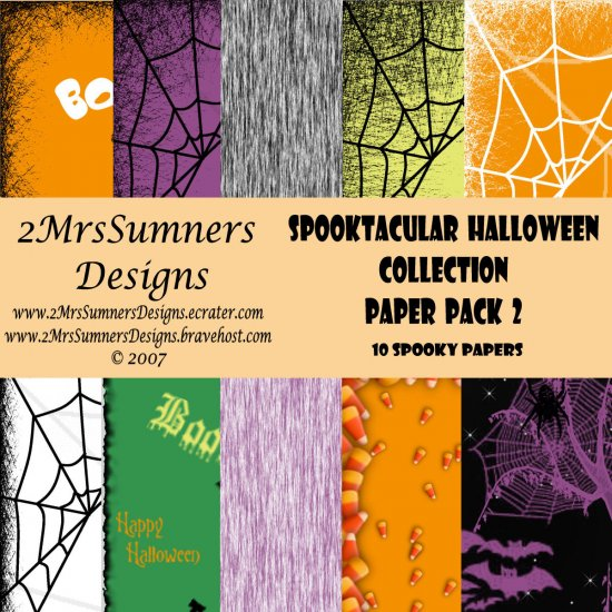 Spooktacular Halloween Collection Paper Pack 2