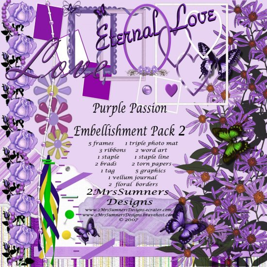 Purple Passion Element Pack 2