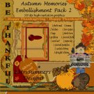 Autumn Memories Element Pack 2