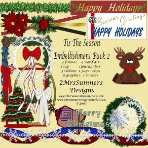 Tis the Season Element Pack 2