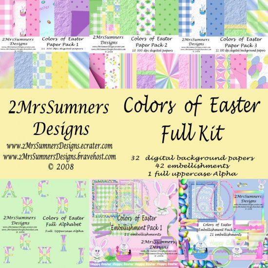 Colors of Easter (Full Kit)