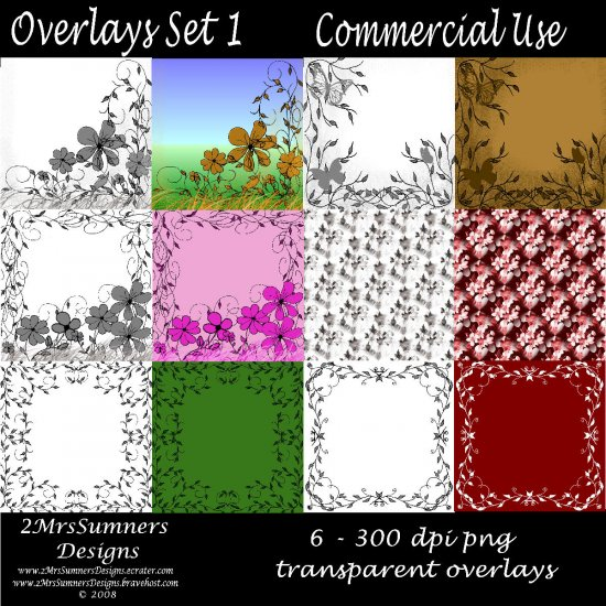 Overlays Set 1