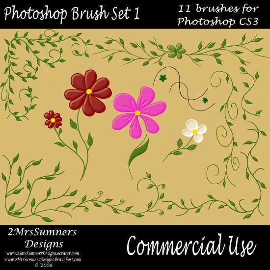 Photoshop Brush Set 1