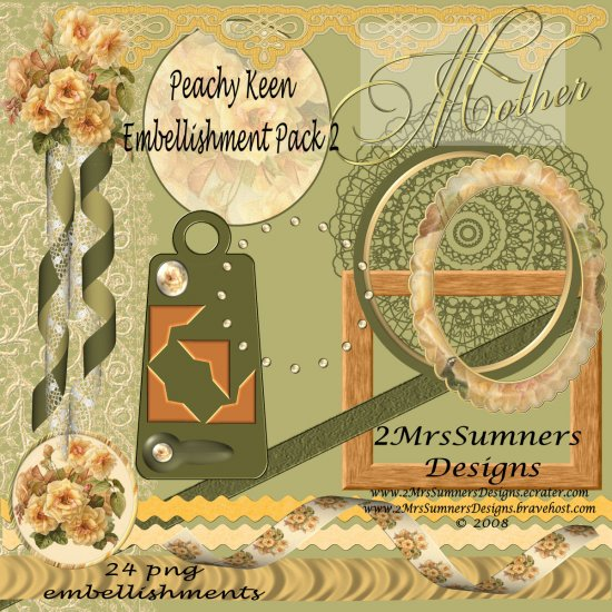 Peachy Keen Element Pack 2
