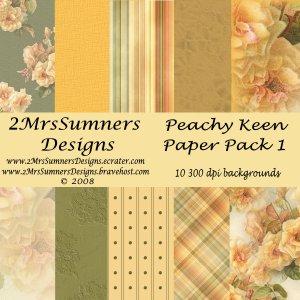 Peachy Keen Paper Paack 1