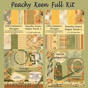 Peachy Keen (Full Kit)