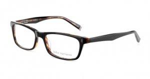 John Varvatos V325 Eyeglasses Black/Tortoise