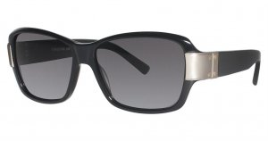 Nicole Miller WORTH Sunglasses C01 Black