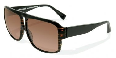 Alain Mikli 0A01304 BROWN TORTOISE STRIPES/BLACK Sun