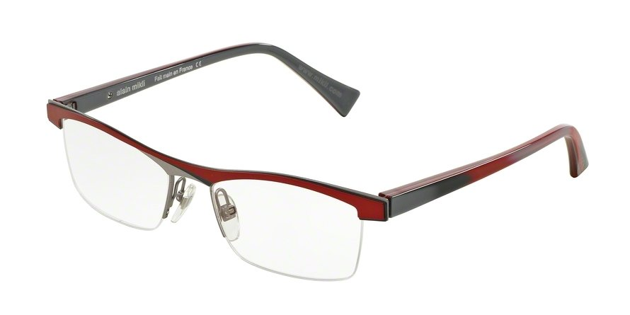 Alain Mikli 0A01297 RED GRAY GRAY GUN RUTHENI Optical