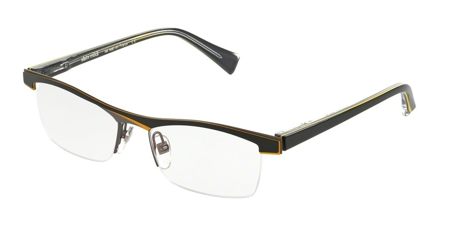 Alain Mikli 0A01297 BLACK YELLOW GREY Optical