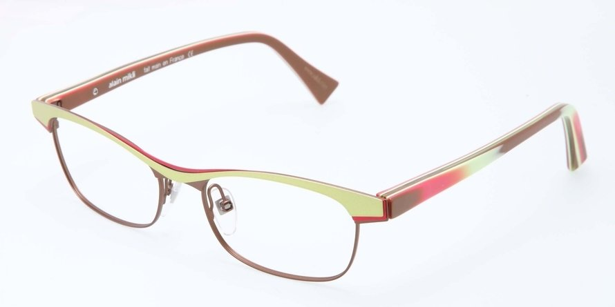 Alain Mikli 0A01296 GREEN ROSE IN BURGUNDY / DAMI Optical