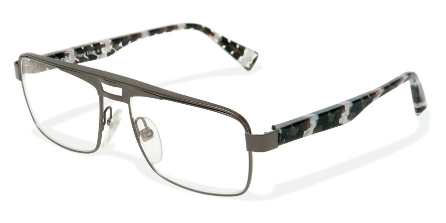Alain Mikli 0A01223 CENDER GREY-BLACK WHITE CHECK Optical