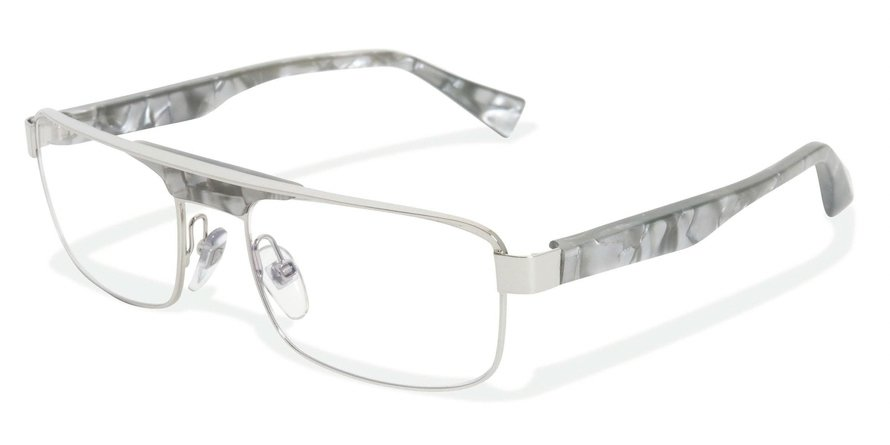 Alain Mikli 0A01222 SHINY PALLADIUM-PEARLY GREY Optical