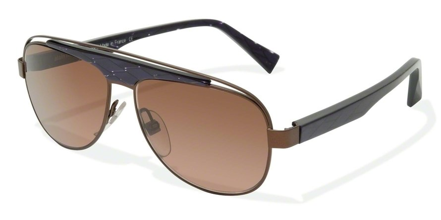 Alain Mikli 0A01208 CARAMEL BROWN / PURPLE FILET Sun