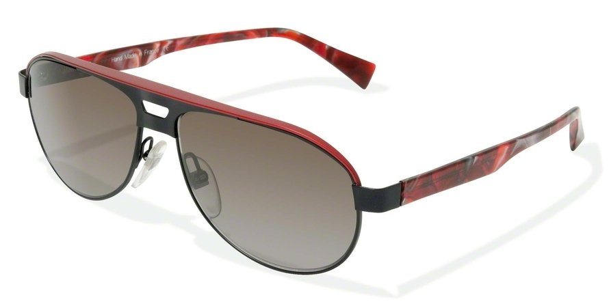 Alain Mikli 0A01207 BLACK-RED/DISGUISED RED Sun