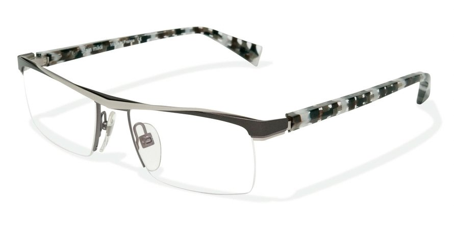 Alain Mikli 0A01203 PALLAD GREY GUN/GREY BLACK DAM Optical