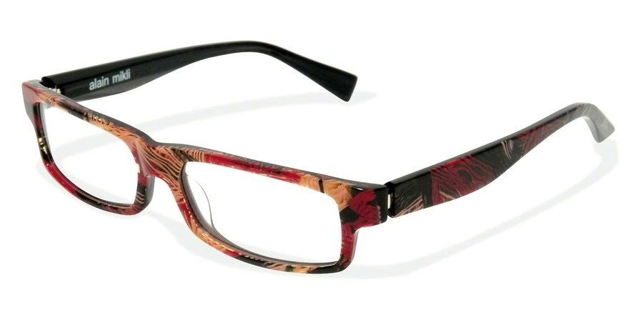 Alain Mikli 0A01154 GREY BURGUNDI LAINE Optical