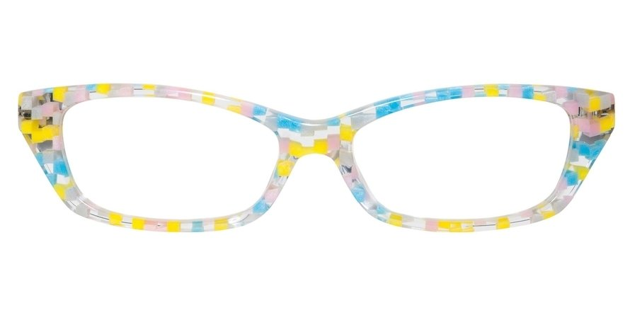 Alain Mikli 0A01153 PINK BLUE YELLOW PASTEL/GREY Optical
