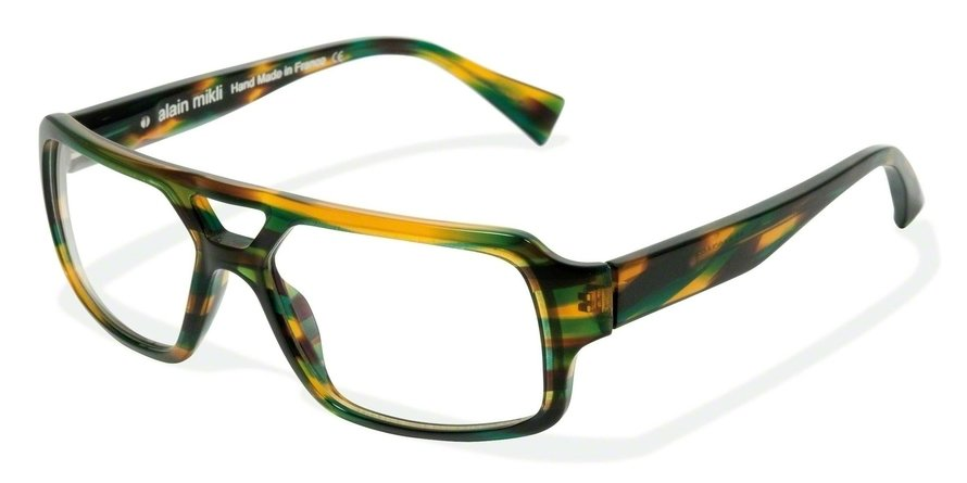 Alain Mikli 0A01127 TORTOISE YELLOW BLUE GREEN Optical