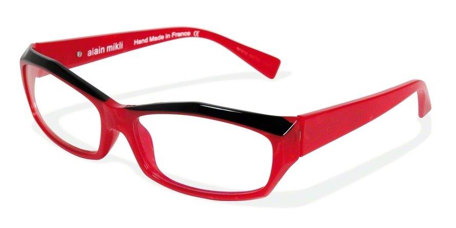 Alain Mikli 0A01126 PEARLY RED/BLACK Optical