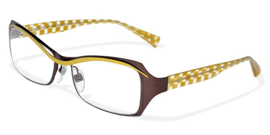 Alain Mikli 0A01117 NUTS & CLEAR YELLOW Optical