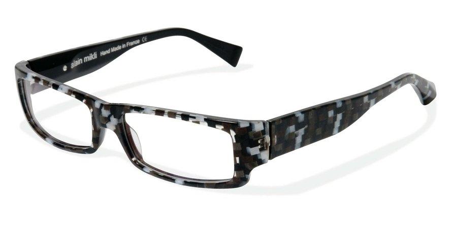 Alain Mikli 0A01048 WHITE BLACK CHEST-BLACK Optical