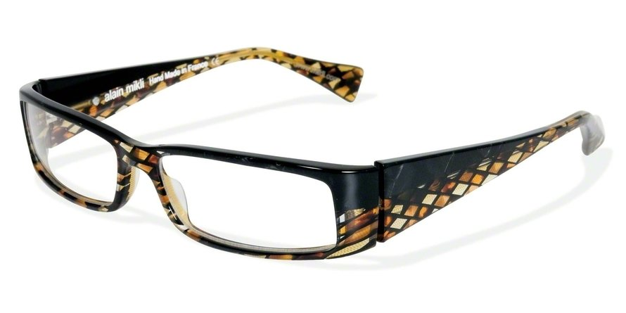 Alain Mikli 0A00412 PEARL BLACK-BROWN TOR LOS-YEL Optical