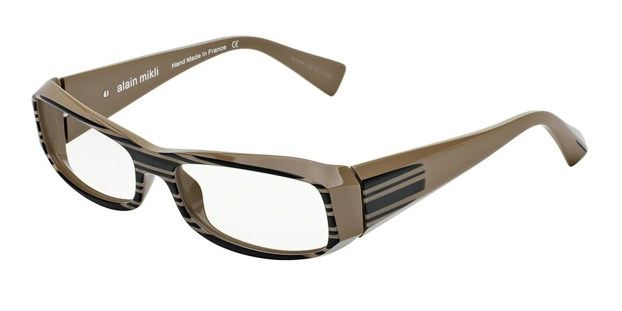 Alain Mikli 0A00322 MUD BROWN/BLACK STRIPES Optical