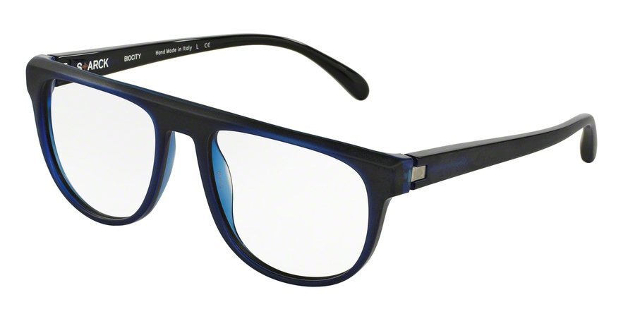 Starck Eyes 0SH3020 BLUE/BLACK/BLUE MAT OUTSIDE Optical