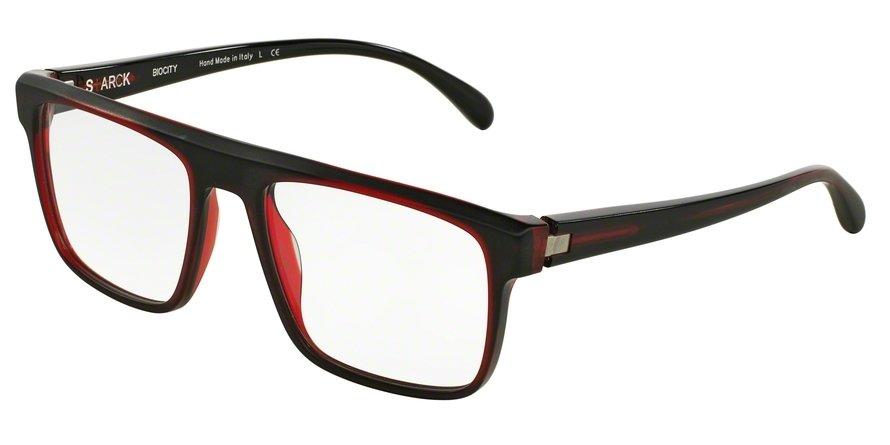 Starck Eyes 0SH3016 MATT BLACK / RED / BLACK Optical