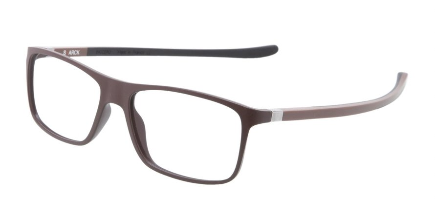 Starck Eyes 0SH1365 MAT BROWN / BROWN - BLACK Optical