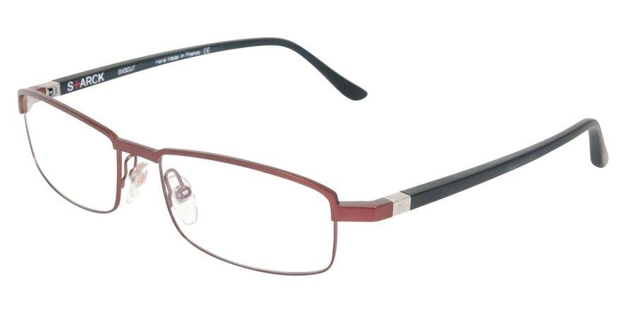 Starck Eyes 0SH1302 BRUSHED SATIN RED Optical