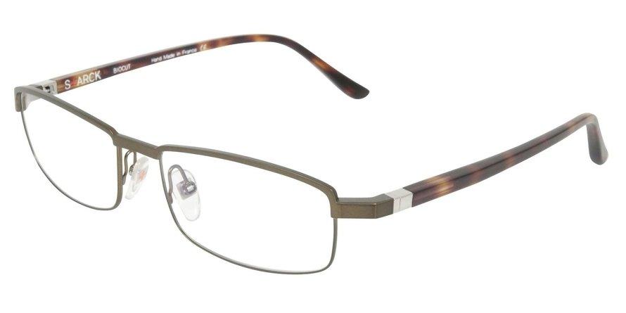 Starck Eyes 0SH1302 BRUSHED SATIN KAKI Optical